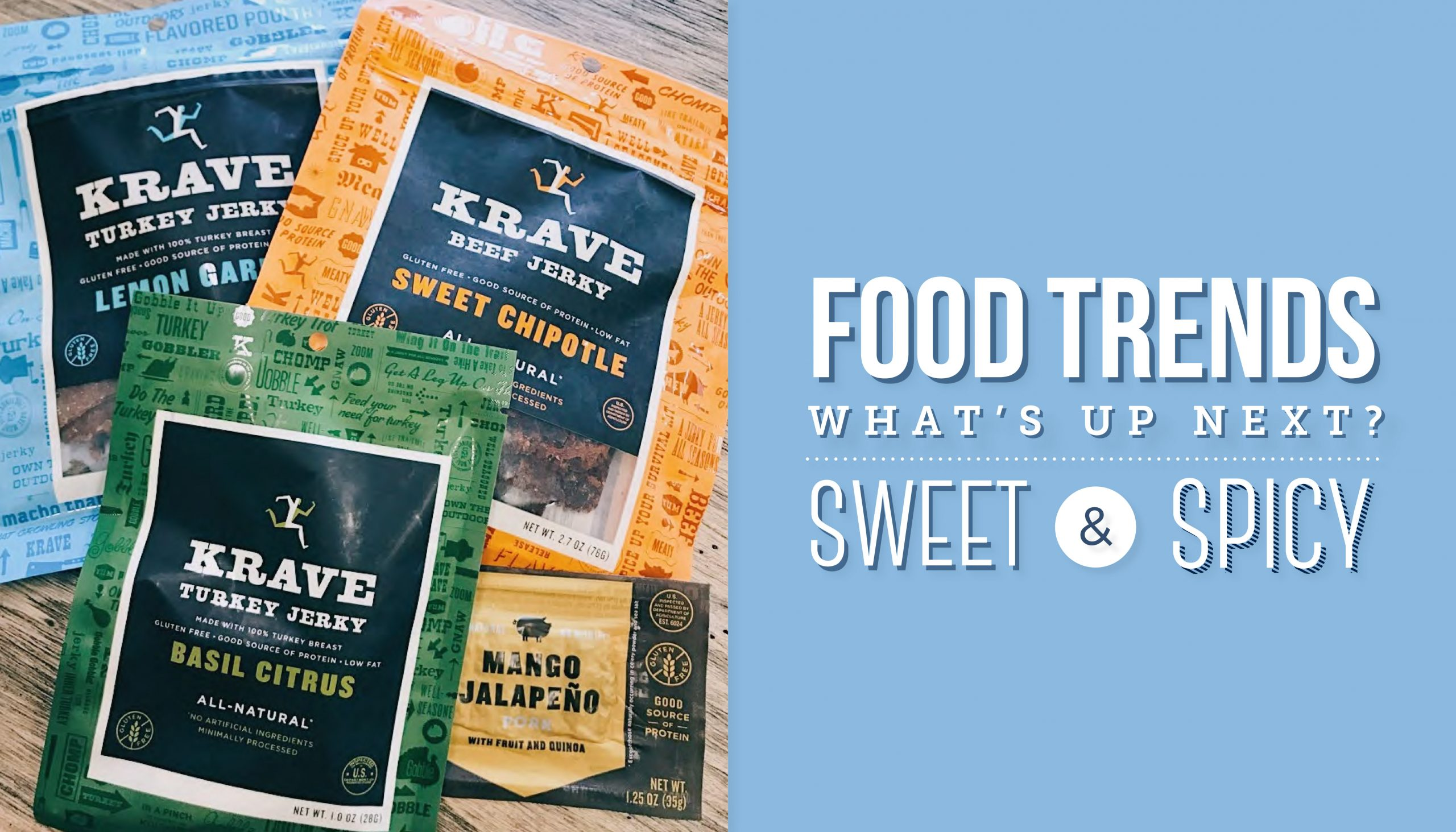 Food Trends Sweet and Spicy