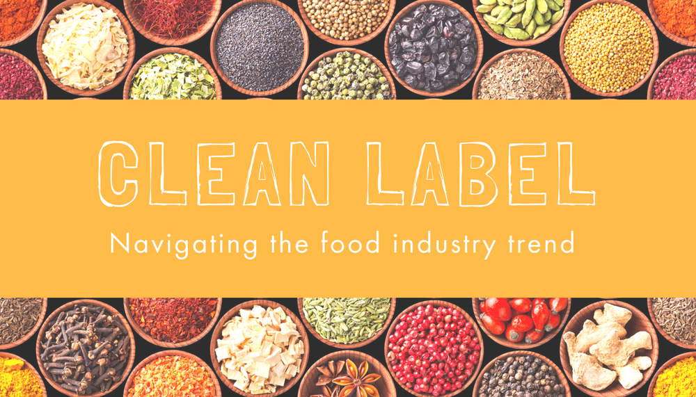 Clean label food trends