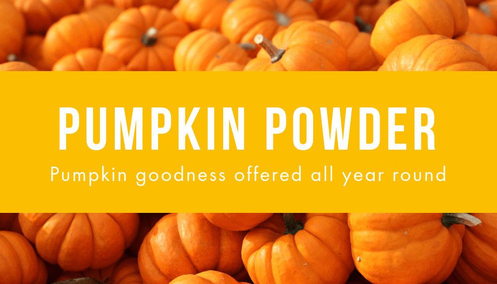 Pumpkin Powder: The Perfect Ingredient for Your Next Food Offering