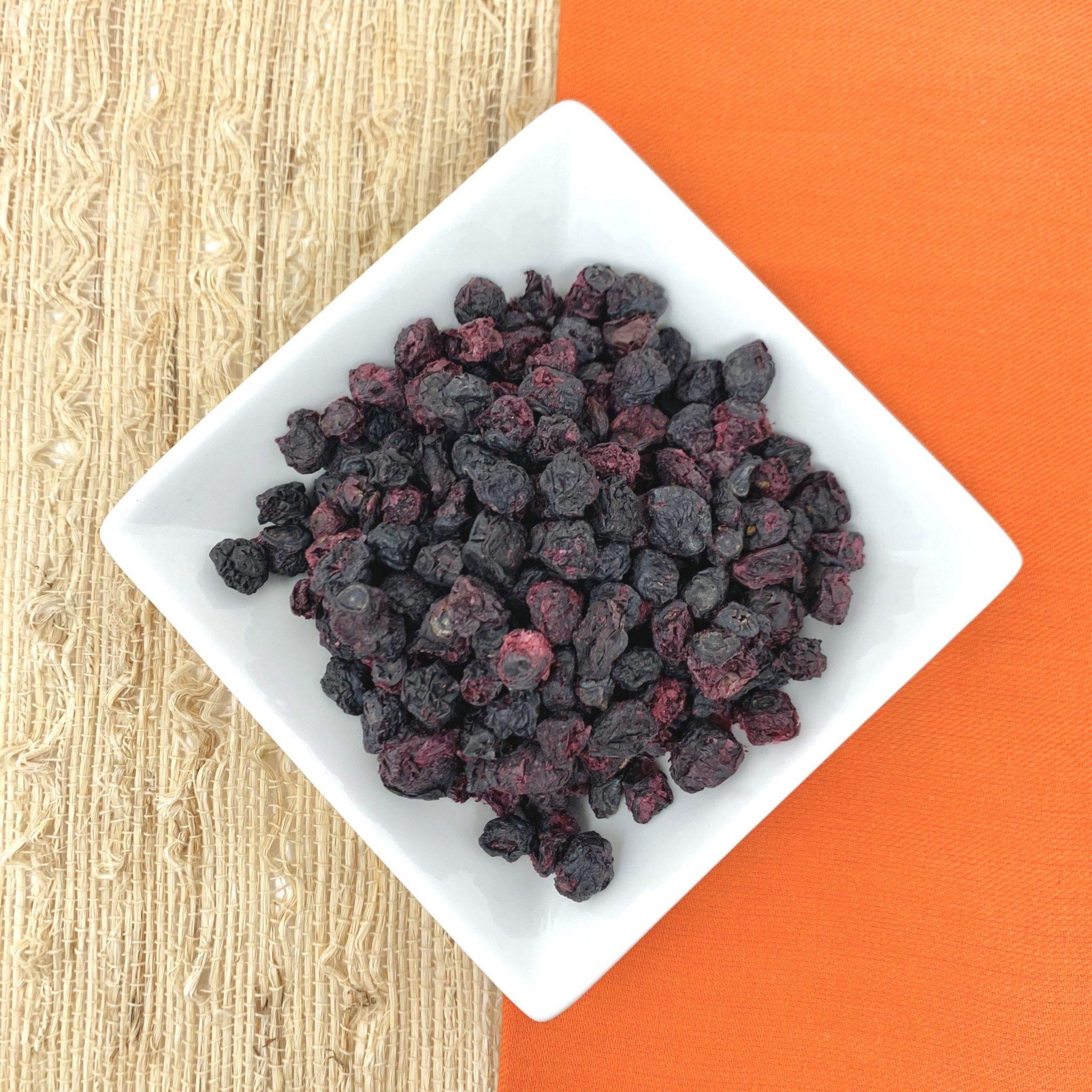 whole air dried blueberries